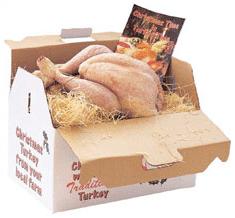 Cheshire White Barn Hen Turkeys